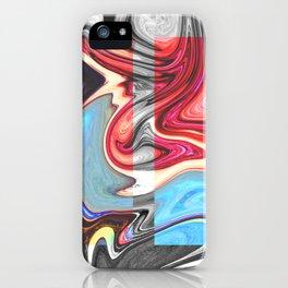 SNARL - BLACK iPhone Case