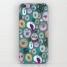 Donut Pattern iPhone & iPod Skin