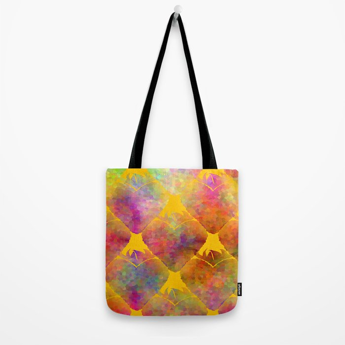 Berry Hearts Tote Bag