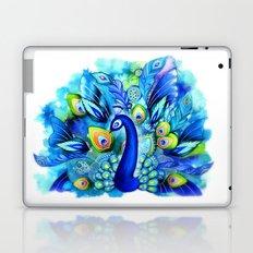 Peacock in Full Bloom Laptop & iPad Skin