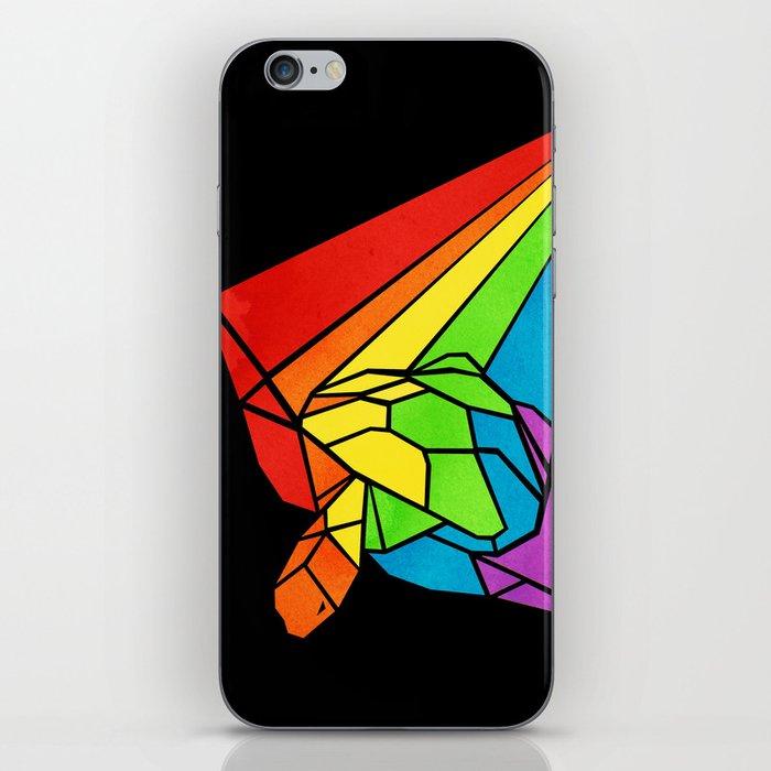 Striped Shapeshifting Turtle  iPhone Skin