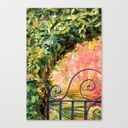 Azalea Gate 1 Canvas Print