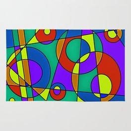 Abstract #61 Rug