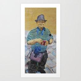 Rumpus Rudy Art Print