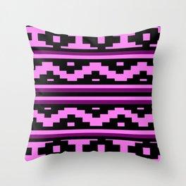Etnico violet version Throw Pillow