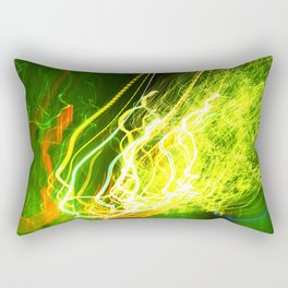Shaking the Lights Rectangular Pillow