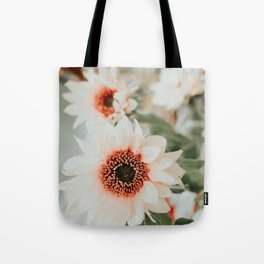 Pastel sunflowers Tote Bag