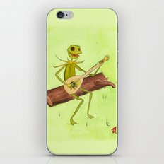 It Ain't Easy Being Green iPhone & iPod Skin