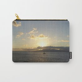 Sailing into a Golden Sunset Carry-All Pouch