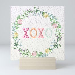 xoxo Mini Art Print