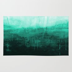 Paint 8 abstract minimal modern water ocean wave painting must have canvas affordable fine art Rug