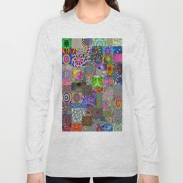 Psychedelic Montage Long Sleeve T-shirt