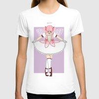 madoka magica T-shirts featuring madoka by flourpots