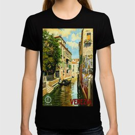 Venezia - Venice Italy Vintage Travel T-shirt