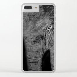 Big Baby Clear iPhone Case