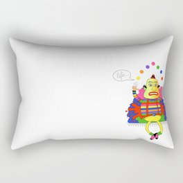Life is a juggle! Rectangular Pillow
