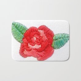 Rose Red Bath Mat