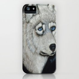 Grey Wolf Collection iPhone Case