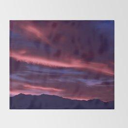 SW Serenity Rose Sunrise Throw Blanket