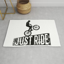 Just ride Rug