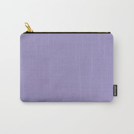 Flowering Violet (Purple) Color Carry-All Pouch