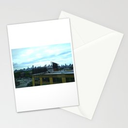 LIC skyline 2 (2018), a Society6 Exclusive Stationery Cards