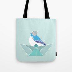 Origami Bird Tote Bag