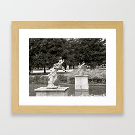 Still Running in Place Framed Art Print