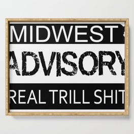 Midwest Advisory Serving Tray