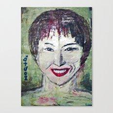 MISS ZHU Canvas Print