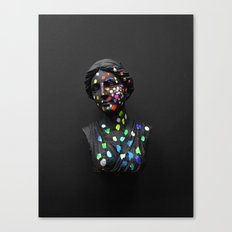 When She Thought of Stars Canvas Print
