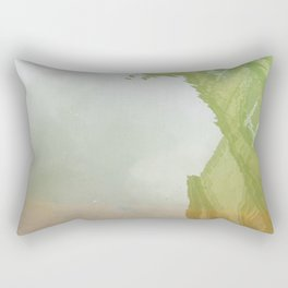 Curses: Absinthe Rectangular Pillow