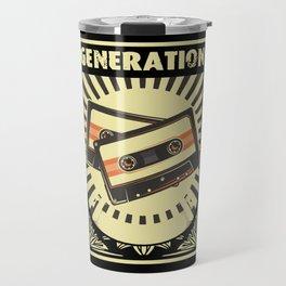 Tape Generation Audio Tape Mixtape Travel Mug