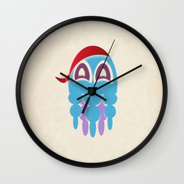 Octopus Sea Pirate Wall Clock