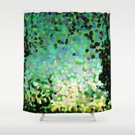 The Emerald Isle Shower Curtain