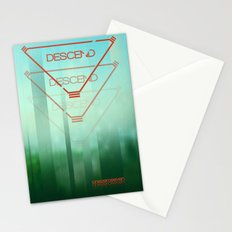 Descend Stationery Cards