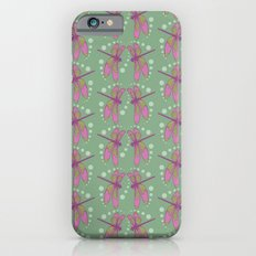 pattern with dragonflies 5 iPhone 6s Slim Case