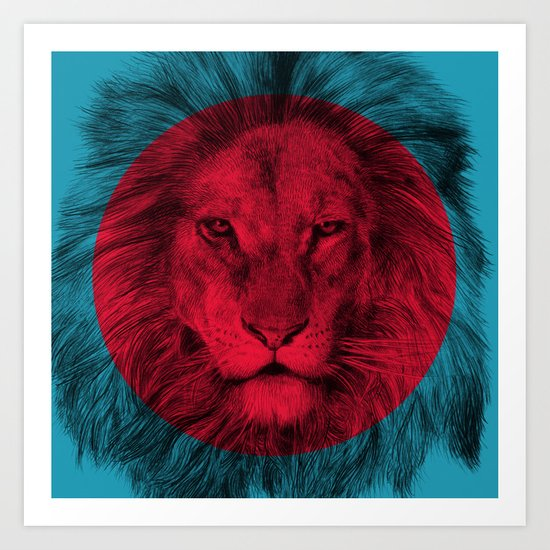 Wild 5 by Eric Fan & Garima Dhawan Art Print