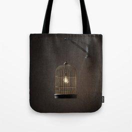 Idea in a cage Tote Bag