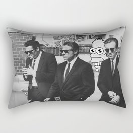 consume and obey Rectangular Pillow