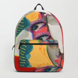 Surrealist Mystic Collage Vector Art Dora Maar Backpack