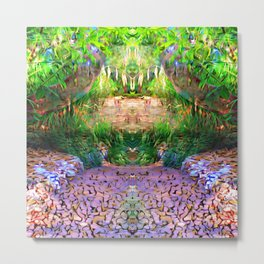 Garden of Activation Metal Print