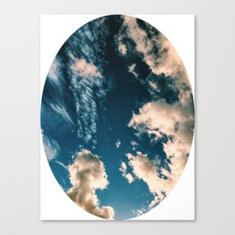 sky circle Canvas Print