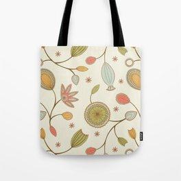Mehndi Flower Tote Bag