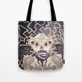 Glowing Monster Tote Bag