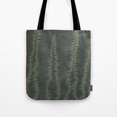 Shibori Ferns Tote Bag