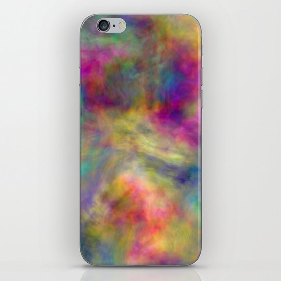 rainbow clouds iPhone & iPod Skin