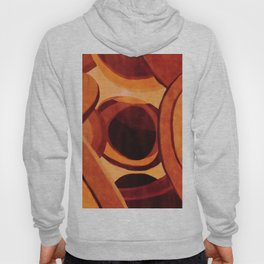Abstract watercolor composition Hoody