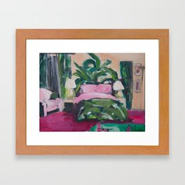 Golden Girls, Blanche's Boudoir Framed Art Print