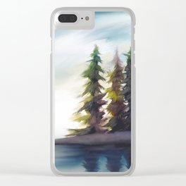 Open Space Clear iPhone Case